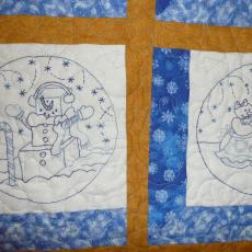 Sandy's Snow Globe Memories Quilt