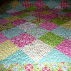 Sandy's 2nd DeLovely Quilt