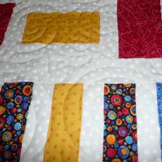 Sharon's Piano Key Quilt