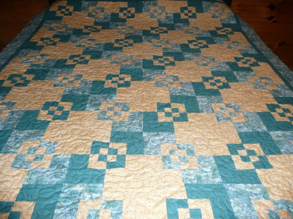 Sharon's Jinny Beyer Quilt
