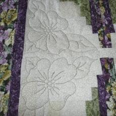 Sid's Flowers in the Cabin Quilt