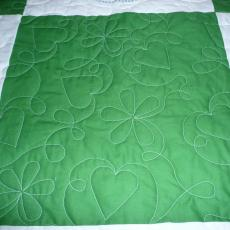 Suzanne's Flowers and Hearts Quilt