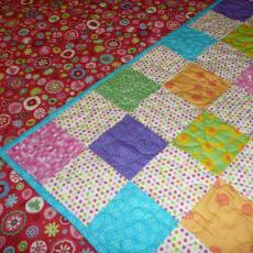 Baby Granddaughter's Quilt