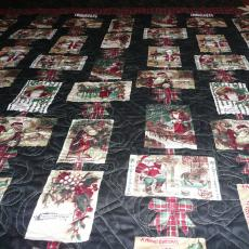 Vickie's 2013 Christmas Quilt