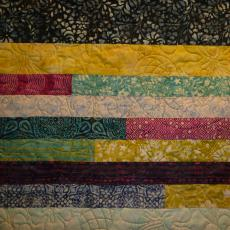 Lois's Jelly Roll Quilt