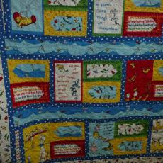 One Fish Two Fish Dr Seuss Quilt