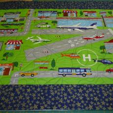 Airplane Play Mat