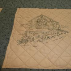 Embroidered Barn Quilts