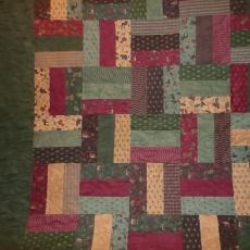 Holly Taylor Rail Fence Quilt