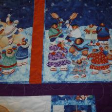 Eskimos Just Want To Have Fun Quilt