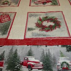 Red Truck Christmas Quilt