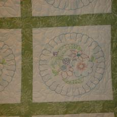 My Vintage Embroidery Blocks Quilt