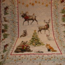 Animal Christmas Quilt