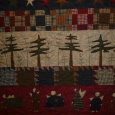 Row By Row Christmas Quilt
