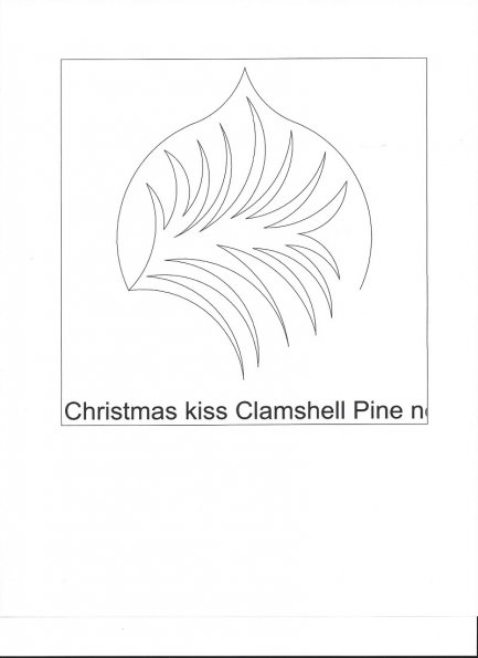 NH - Christmas kiss clamshell pine     C