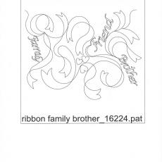 KD - ribbon family brother     B